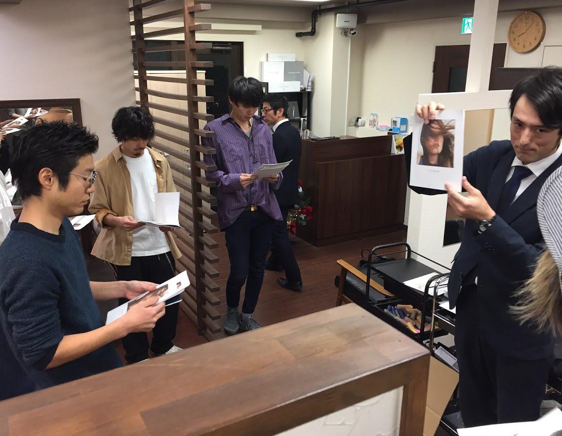 12月7日 ビューティエクスペリエンス様と共催でスロウカラー剤セミナーを開催致しました。